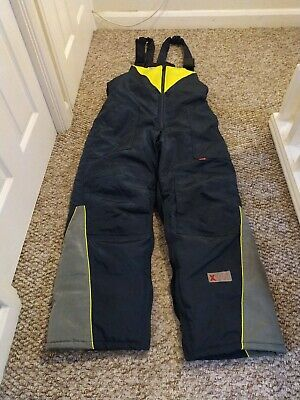 FlexiTog Thermal Bib and Braces Large  (Freezer Wear/ColdStore) deep-sea fishing