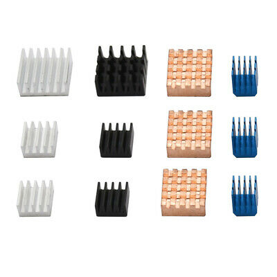 Heat sinks Cooling Fin Dissipation Aluminum+Copper Parts Square Accessories