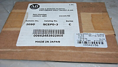 Allen Bradley 195591-Q02 Fiber Optic Cable Installation