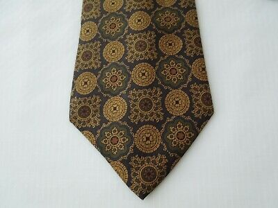 Fellini Silk Tie Seta Cravatta Made In Italy  B465