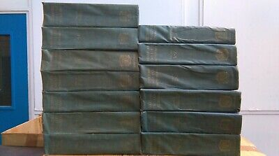 The Oxford English Dictionary, 1933, Blue Cloth, Complete in 13 Volumes