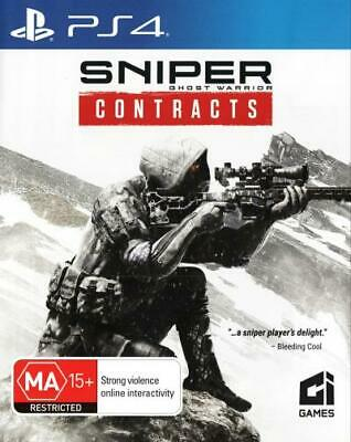 Sniper Ghost Warrior Contracts  - PlayStation 4 game - BRAND NEW