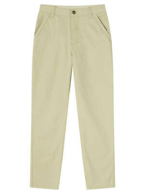 John Lewis & Partners Boys' Lightweight Chino Trousers Elm 10 YEARS BNWT