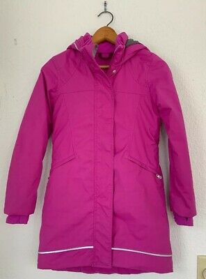Ivivva By Lululemon Girls Size 8 Down Parka Jacket Coat MINT Condition