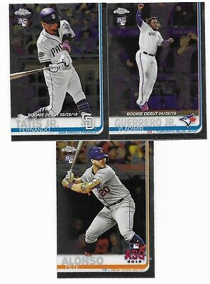 2019 Topps Chrome Update Complete Master Set (150 Cards) Base + 2 Insert Sets