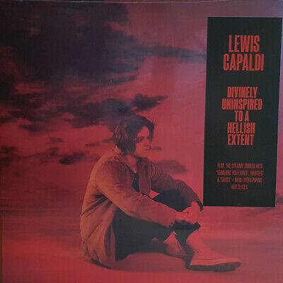 Lewis Capaldi Divinely Uninspired To A Hellish Extent Hand Signed Lp Album Vinyl
