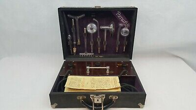 Vintage Antique 1920's Renulife Model R Violet Ray Ozone Generator