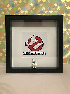 Ghostbusters Mini Figure Frame! Stay Puft Gift Handmade Lego