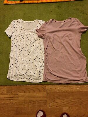 Women Maternity Bundle H&M T Shirt Size Small