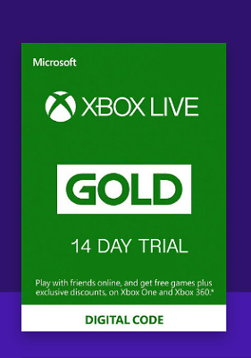 Xbox Live Gold 14 days TRIAL Xbox Live Key GLOBAL (Fast delivery..