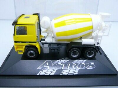 7,45 m #082907 HERPA 1:87//H0 Fahrgestell MB Actros ´08 3-achs 2 Stück