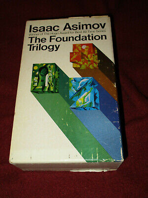Foundation Trilogy box set by Isaac Asimov (1977, pb) Avon Second and Empire