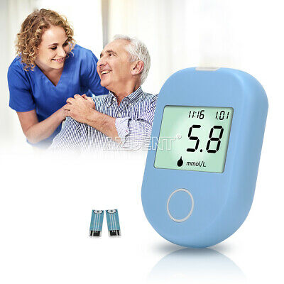 Digital Blood Glucose Monitor Sugar Meter with Test Strips Lancets with Disks