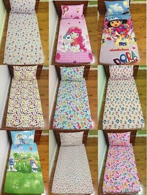 My Little Pony Ballerina Toy Story Dora Minnie Hello Kitty Cot Fitted Sheet