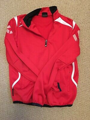 STANNO Red Childs Football Training Top Size 164 Size Approx 13-14 Years