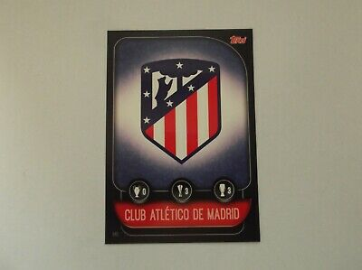 "Match Attax 19/20 ""CLUB ATLETICO DE MADRID / ATHLETICO MADRID"" #141 Trading Card"