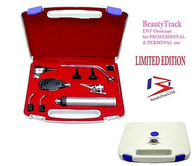 ENT Opthalmoscope Otoscope Nasal Larynx Diagnostic Set -Proctoscopes & Speculas