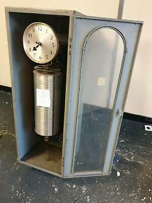 Vintage GPO 62A telephone timer - Synchronome - could be used with master clock