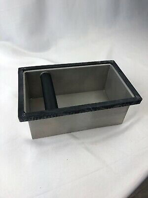 Rattleware Knock Box 9x5.5x4. Closed Bottom