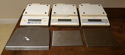 3 off Sartorius BL3100 Digital Analytical Lab Scales 3100g d = 0.1g as found