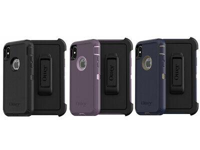 OEM OtterBox Defender Series Case For iPhone X & iPhone XS (with Holster/Clip)