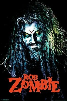 ROB ZOMBIE - HELLBILLY POSTER - 22x34 - MUSIC 17048