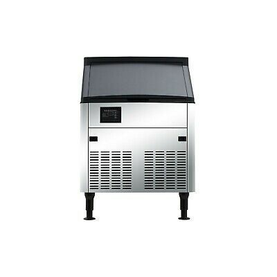 Half Cube Commercial Ice Machine - 160 lb. with 80 lb. Storage Bin