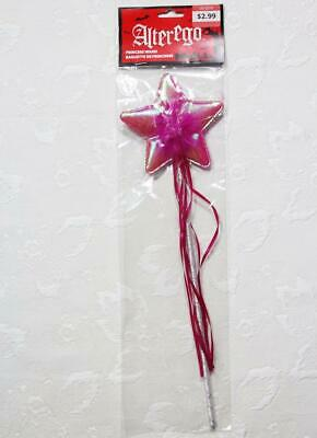 Star Wand Magic Fairy Princess Wand Birthday Party Fancy Dress Iridescent Pink