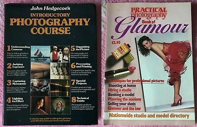 John Hedgecoe's Photography Course-1980 / Pract. Photography Bk. Of Glamour-1984