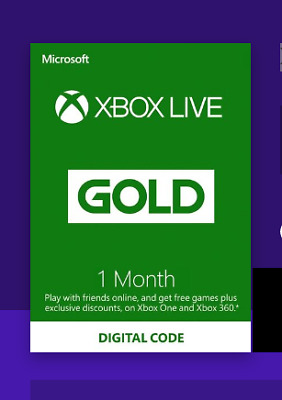 Xbox Live Gold 1 month Xbox Live Key GLOBAL (Fast delivery..