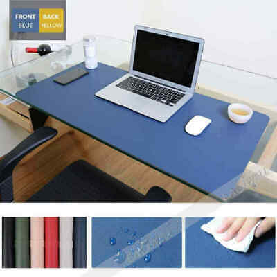PU Leather Large Mouse Pad Laptop Computer Gaming Desk Top Mat PC Mousepad Gift