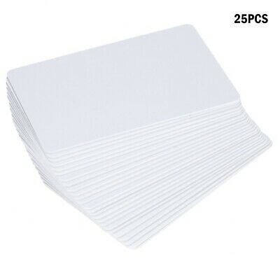 RFID Card Readable Writable Rewrite Blank White Key Card For Access Control BR