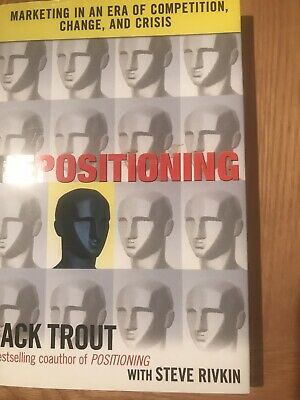 Repositioning, Jack Trout With Steve Rifkin, 2010 Forst Edition, Hardback,