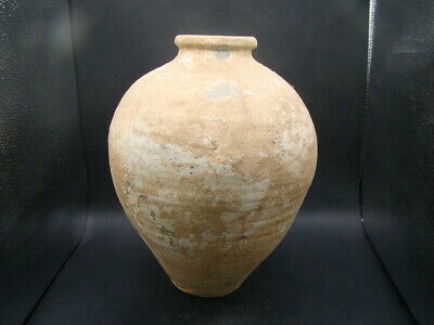 Chinese Tang Dynasty (618-907) nice big painted pottery vase  v6619