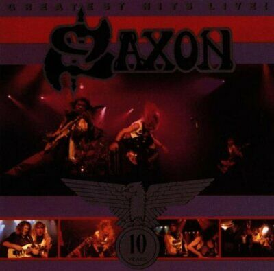 Saxon : Greatest Hits, Live CD Value Guaranteed from eBay's biggest seller!