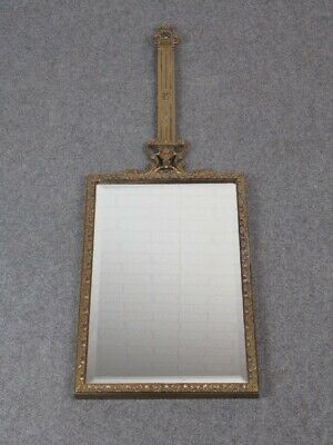 Elegant Mirror Baroque with Frame Brass Period Years' 50/60