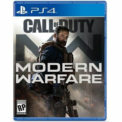 Open Box: Call of Duty: Modern Warfare PlayStation 4 - PS4 Supported - ESRB Rate