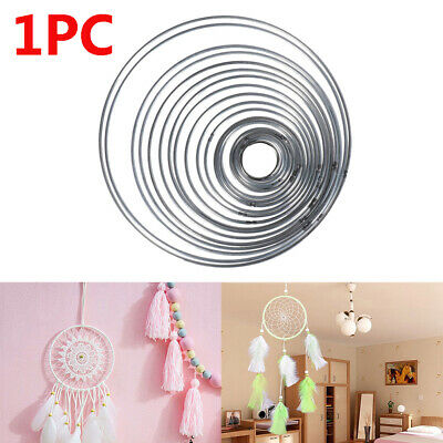 Round Good Welded Metal Craft Dream Catcher Ring Dreamcatcher Hoop DIY