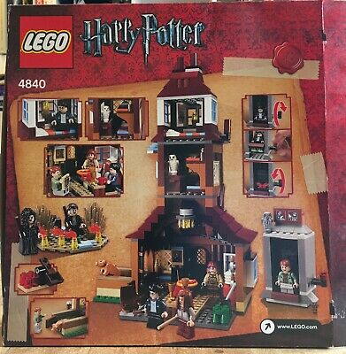 LEGO 4840 Harry Potter The Burrow including Box and Instructions VERY RARE