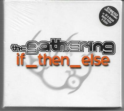 """The Gathering """"if_then_else"""" Strictly Limited Digipack CD NEU/OVP/NEW/Sealed"""