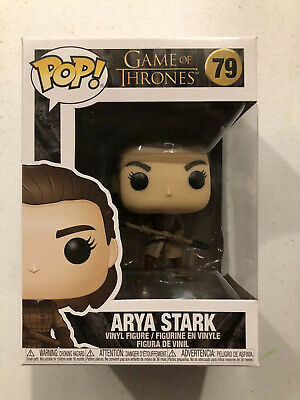 Funko Pop! Arya Stark Two Headed Spear Season 8 Game of Thrones NIB Pop 79