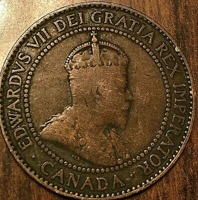 1909 Canada Large Cent Coin Large 1 Cent Penny