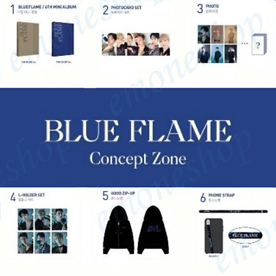 KPOP ASTRO [ BLUE FLAME ] CONCEPT ZONE POP UP STORE OFFICIAL MD + Tracking No.