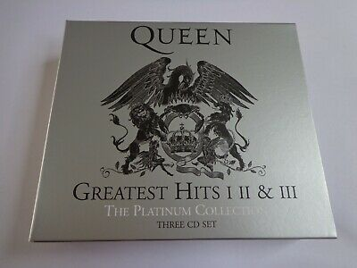 Queen - The Platinum Collection Greatest Hits I II & III 51 tracks 3CD Set NEW