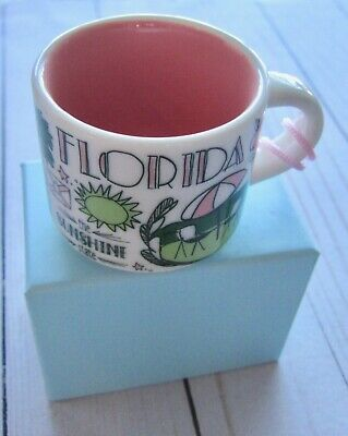 Starbucks Florida Ornament Been There Series New in Box Christmas Expresso Mug