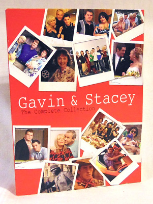Gavin & Stacey Dvd The Complete Collection Series 1, 2, 3 Immaculate Discs