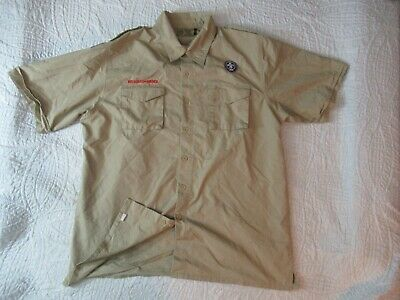 BSA CubScout Blue Uniform Shirt Youth Large SS 67/%Cotton//33/% Poly