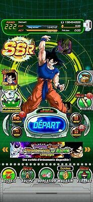 Compte dokkan battle global Android IOS Choisis Ton Compte/Choose your Account