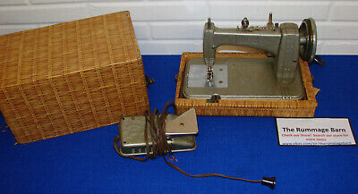 vintage HAMILTON ROSS SEW RITE CHILDS SEWING MACHINE with CASE --- AS IS