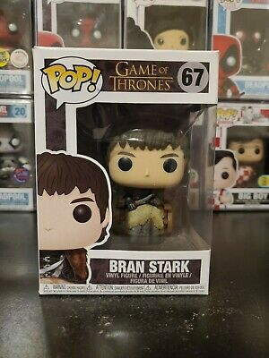 Funko Pop! Game of Thrones Bran Stark #67 Vinyl Figure WITH PROTECTOR!